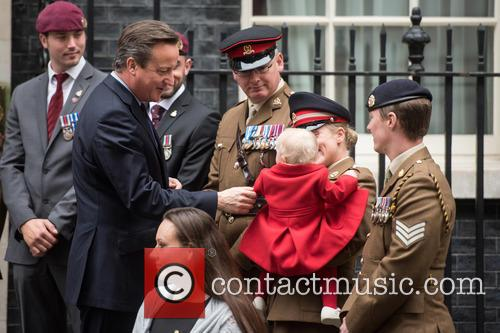 David Cameron, Private Jodie Older and Isabella Older 2