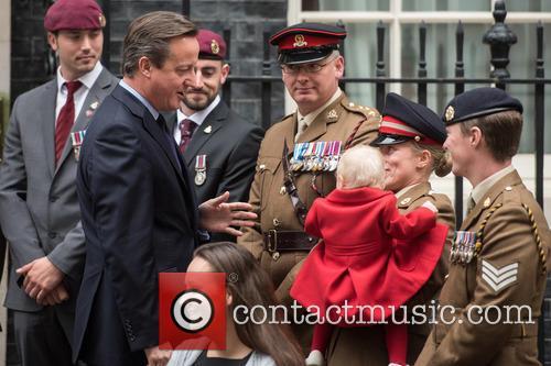 David Cameron, Private Jodie Older and Isabella Older 1