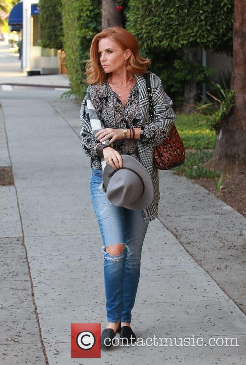 Patsy Palmer seen leaving Indulge House Gifting Suite
