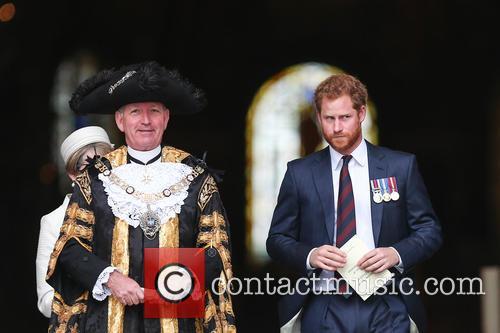 Prince Harry and Lord Mayor Alan Yarrow 2