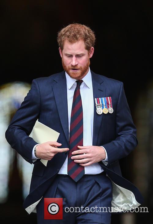 Prince Harry and Lord Mayor Alan Yarrow 5