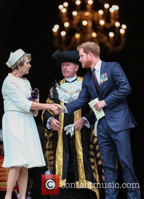 Prince Harry and Lord Mayor Alan Yarrow 8