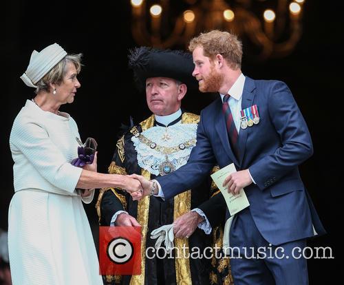 Prince Harry and Lord Mayor Alan Yarrow 9