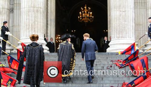 Prince Harry and Lord Mayor Alan Yarrow 8