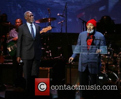 Danny Glover and Sonny Rollins 1