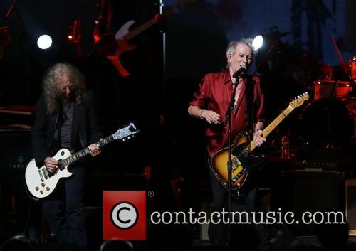 Waddy Wachtel and Keith Richards 2