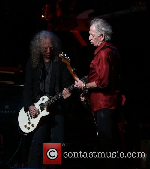 Waddy Wachtel and Keith Richards 1