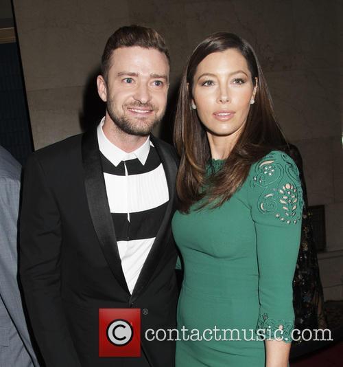 Justin Timberlake and Jessica Biehl 2