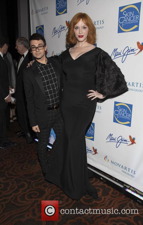 Christian Siriano and Christina Hendricks 2