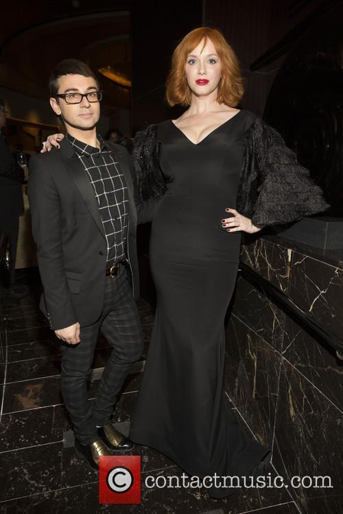 Christian Siriano and Christina Hendricks 1