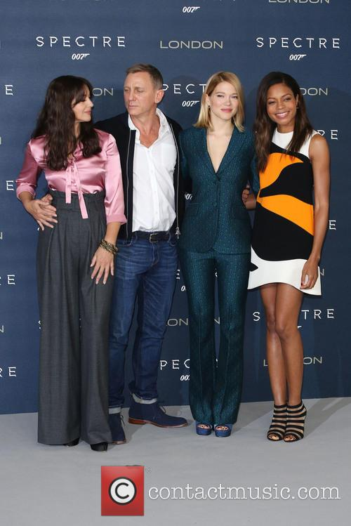 Monica Bellucci, Daniel Craig, Lea Seydoux and Naomie Harris 2