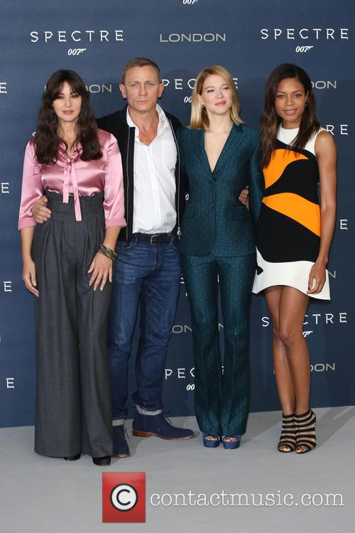 Monica Bellucci, Daniel Craig, Lea Seydoux and Naomie Harris 3