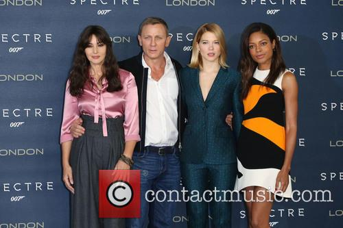 Monica Bellucci, Daniel Craig, Lea Seydoux and Naomie Harris 4