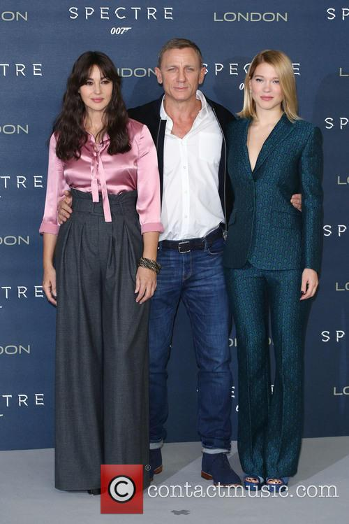 Monica Bellucci, Daniel Craig and Lea Seydoux 2
