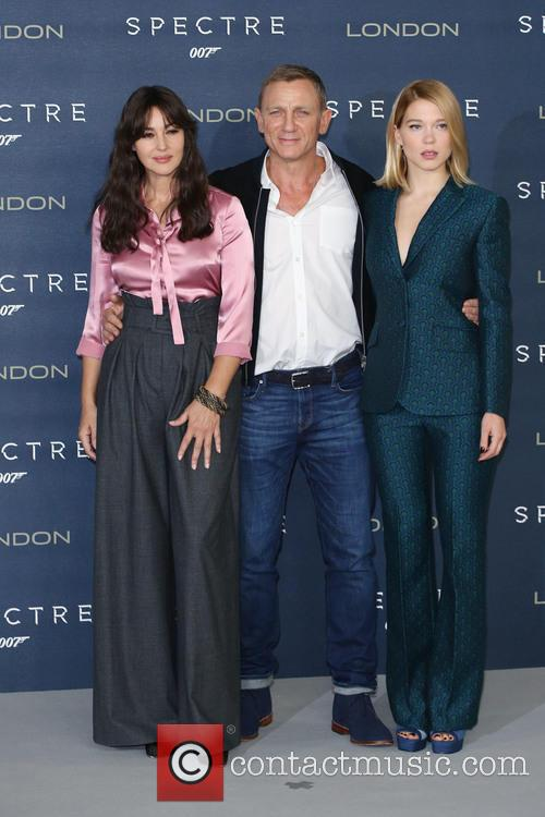 Monica Bellucci, Daniel Craig and Lea Seydoux 3
