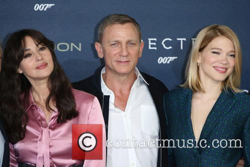Monica Bellucci, Daniel Craig and Lea Seydoux 4