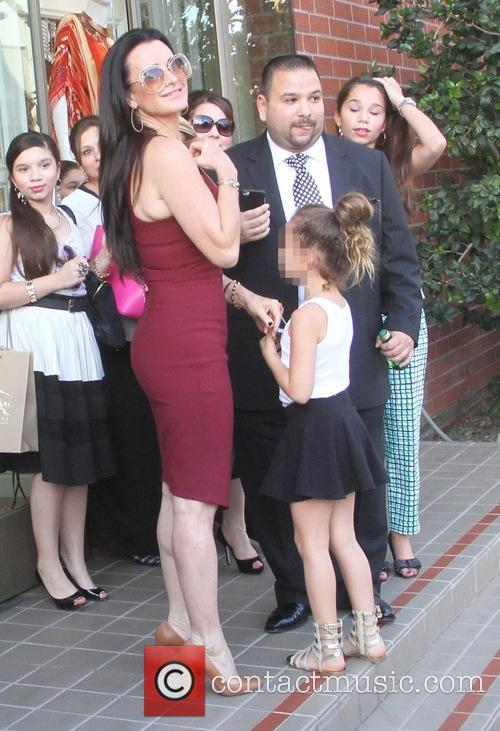 Kyle Richards takes her daughter Portia to Kyle's...