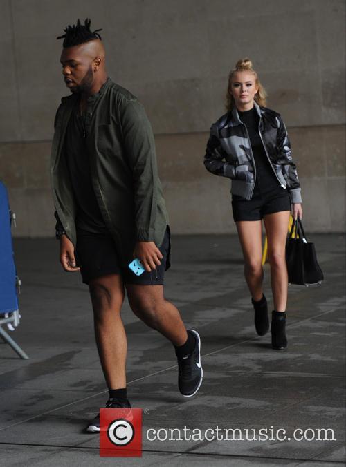 Uzo Emenike and Zara Larsson 3