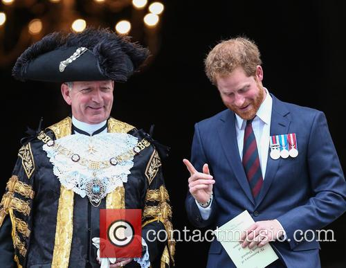 Prince Harry and Lord Mayor Alan Yarrow 7