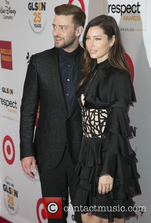 Justin Timberlake and Jessica Biel 2