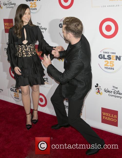 Jessica Biel and Justin Timberlake 2