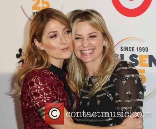 Sasha Alexander and Jessica Capshaw 2
