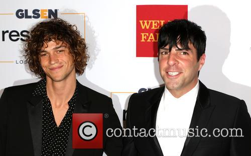 Miles Mcmillan and Zachary Quinto 1