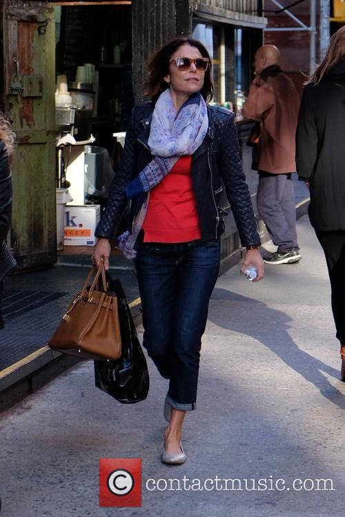 Bethenny Frankel out strolling in SoHo