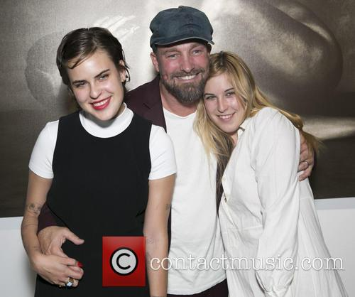 Tallulah Willis, Brian Bowen Smith and Scout Willis 1