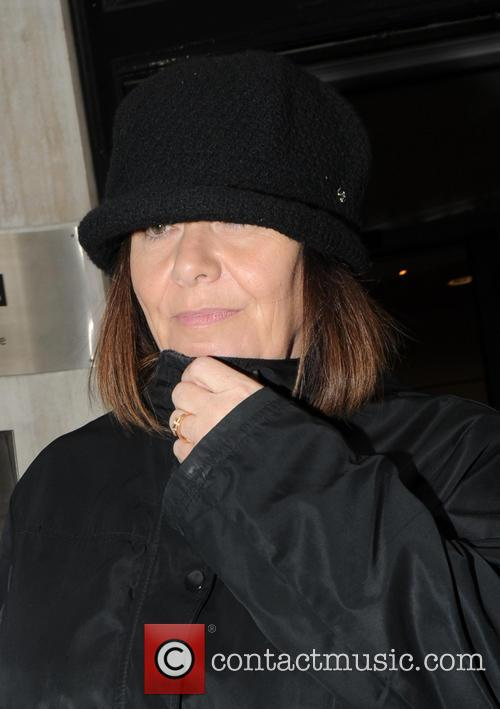 Dawn French out in London