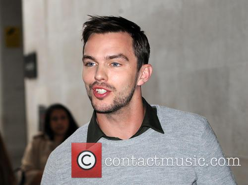 Nicholas Hoult at The BBC