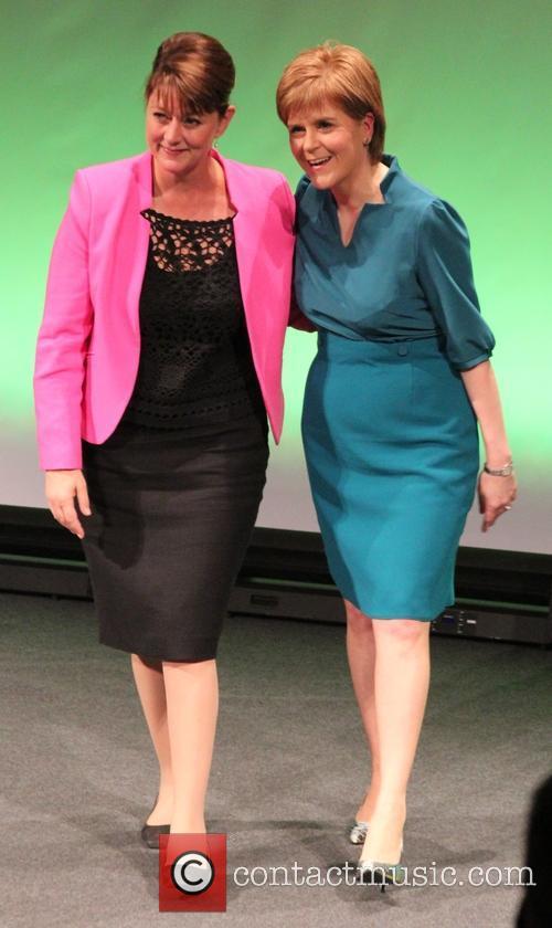 Leanne Wood and Nicola Sturgeon 1