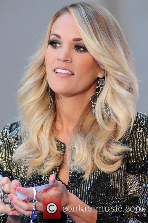 Carrie Underwood performs live on NBC's Today Show