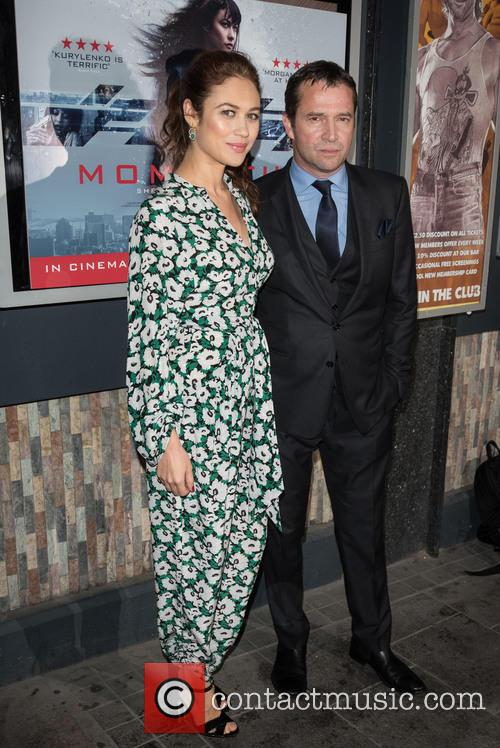 Olga Kurylenko and James Purefoy 2