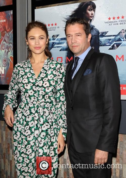 Olga Kurylenko and James Purefoy 2