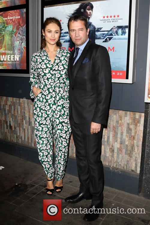 Olga Kurylenko and James Purefoy 1