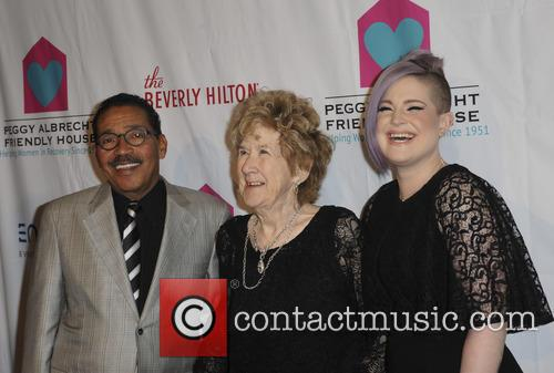 Herb J. Wesson, Peggy Albrech and Kelly Osbourne 2