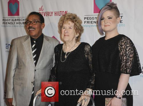 Herb J. Wesson, Peggy Albrech and Kelly Osbourne 3