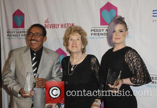 Herb J. Wesson, Peggy Albrech and Kelly Osbourne 4