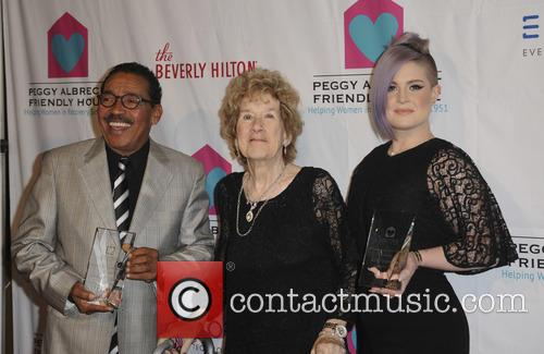 Herb J. Wesson, Peggy Albrech and Kelly Osbourne 5