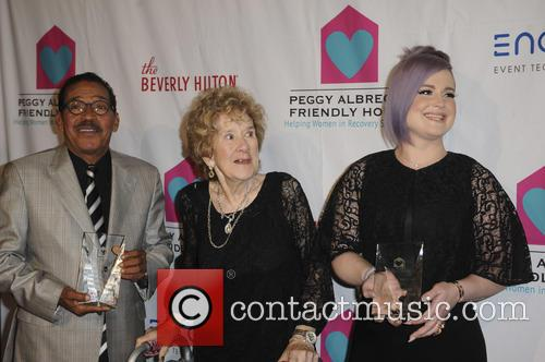 Herb J. Wesson, Peggy Albrech and Kelly Osbourne 1
