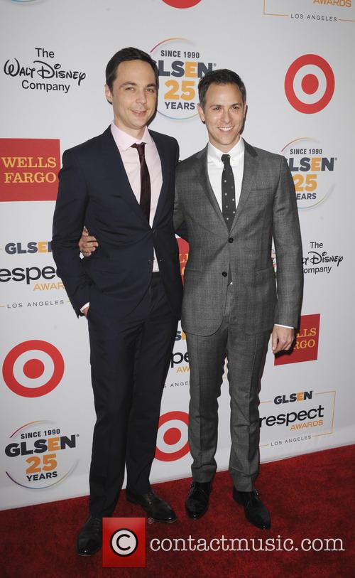 Jim Parsons and Todd Spiewak 1
