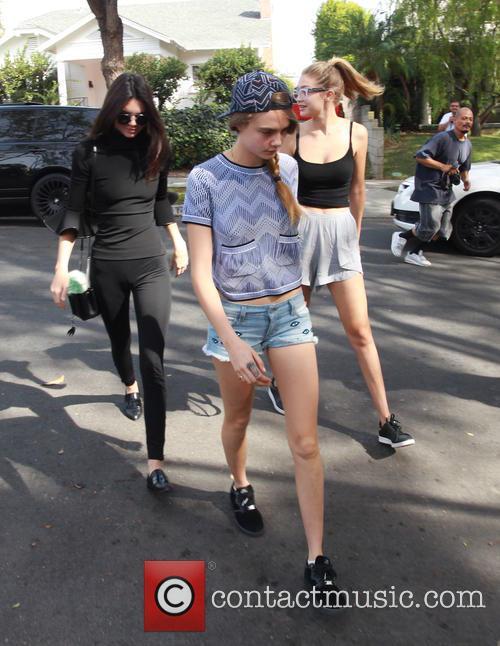 Cara Delevingne, Kendall Jenner and Gigi Hadid 4
