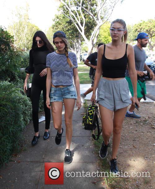 Cara Delevingne, Kendall Jenner and Gigi Hadid 6