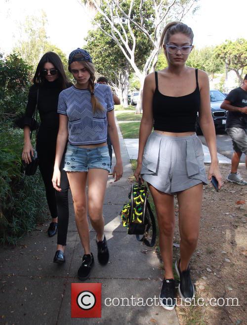 Cara Delevingne, Kendall Jenner and Gigi Hadid 7