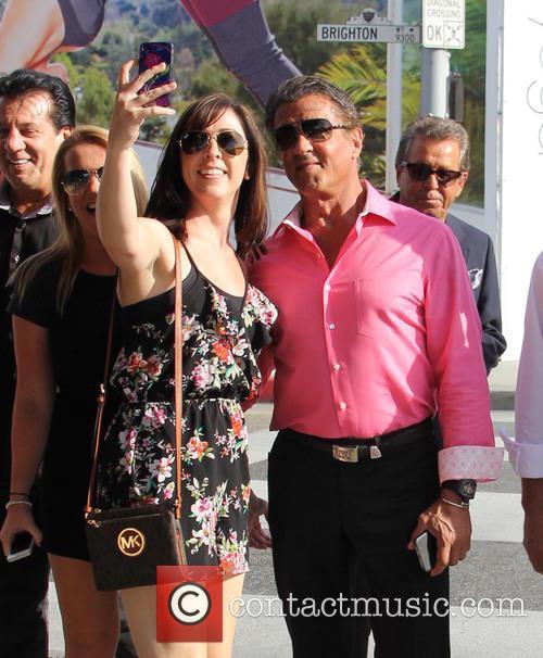 Sylvester Stallone and Chuck Zito 1