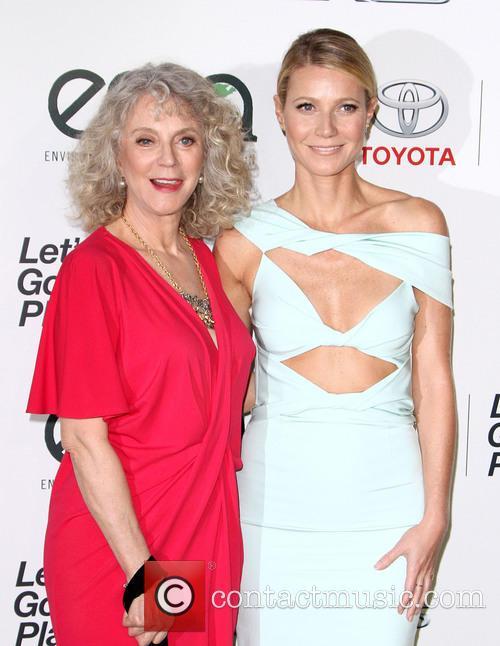 Blythe Danner and Gwyneth Paltrow