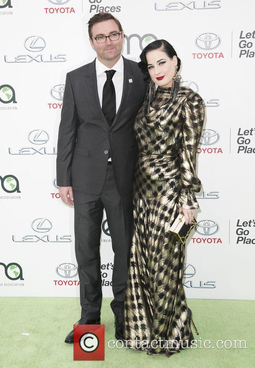 Guest and Dita Von Teese 2