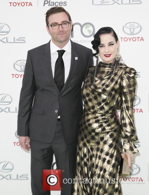 Guest and Dita Von Teese 1