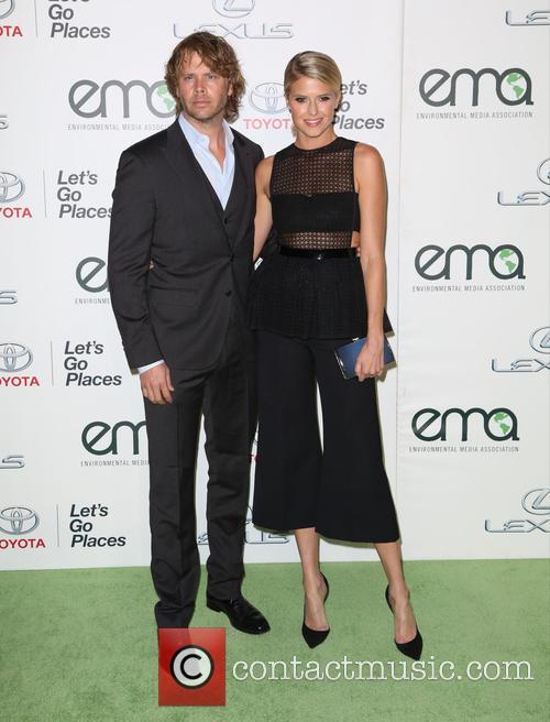 Eric Christian Olsen and Sarah Wright Olsen 2